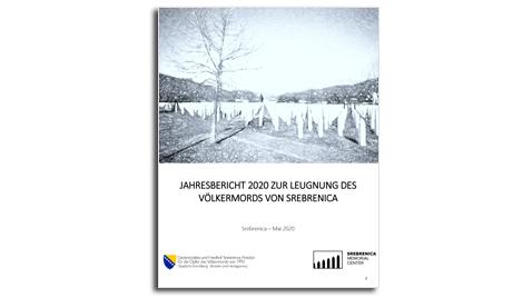 Cover: Jahresbericht zum Jahrestag des Völkermords in Srebrenica